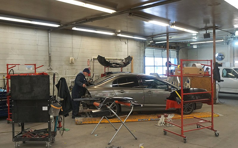 Our body shop workers have the expertise to make your car look and run like new again!